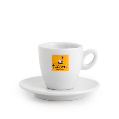 Ceramica Filicori Zecchini, Ceasca si farfurie,  Intermediara/caffee lungo 0