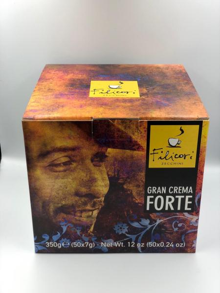 Cafea Filicori in Monodoze Cialde 7g Gran Crema Forte 50/buc 0
