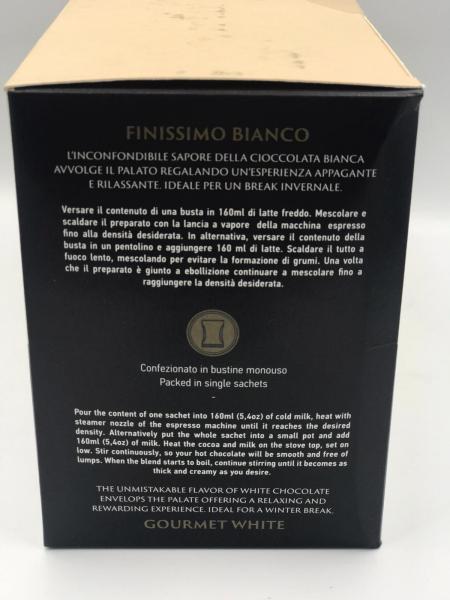 Filicori Zecchini Chocolate/Ciocolata Alba  20 plicuri/ 35g, 700g Total 1