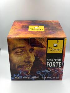 Cafea Filicori in Monodoze Cialde 7g Gran Crema Forte 50/buc0