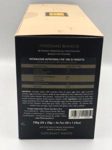 Filicori Zecchini Chocolate/Ciocolata Alba  20 plicuri/ 35g, 700g Total2