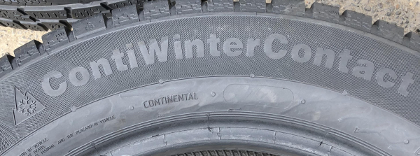 set 4 anvelope 205/60 R16 sh iarna Continental 6mm cu garantie 3