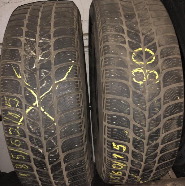 set 2 anvelope 185/60 R15 sh iarna Pirelli 6mm cu garantie 0