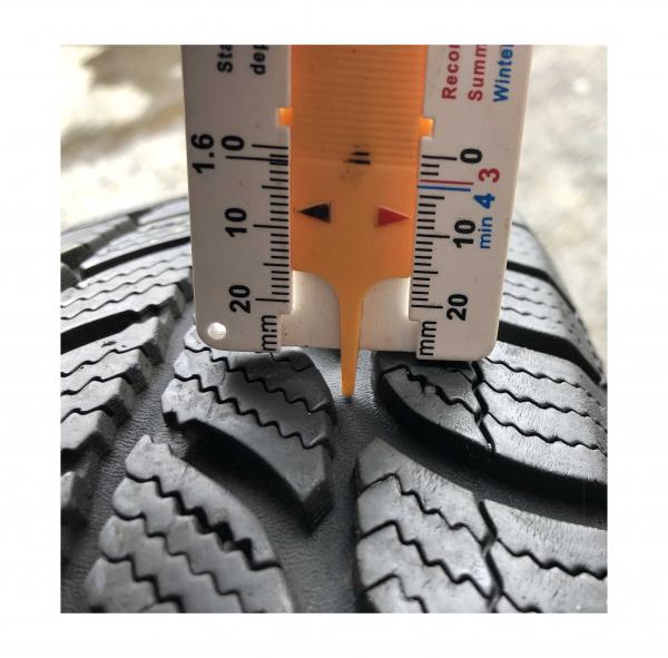 set 2 anvelope 165/70 R14 sh iarna Sava 7.5mm cu garantie 4