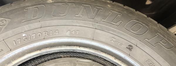 set 4 anvelope 175/70 R14 sh vara Dunlop 6mm cu garantie 6