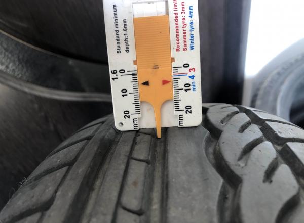 set 4 anvelope 175/70 R14 sh vara Dunlop 6mm cu garantie 8
