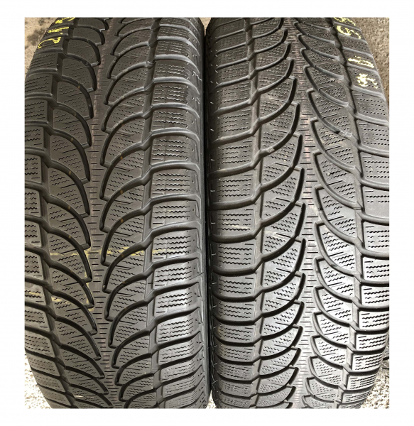 set 4 anvelope 215/65 R16 sh iarna Bridgestone 7.2mm cu garantie 4
