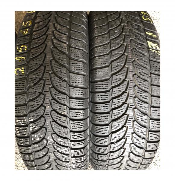 set 4 anvelope 215/65 R16 sh iarna Bridgestone 7.2mm cu garantie 5