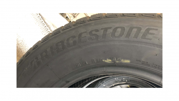 set 4 anvelope 215/65 R16 sh iarna Bridgestone 7.2mm cu garantie 1