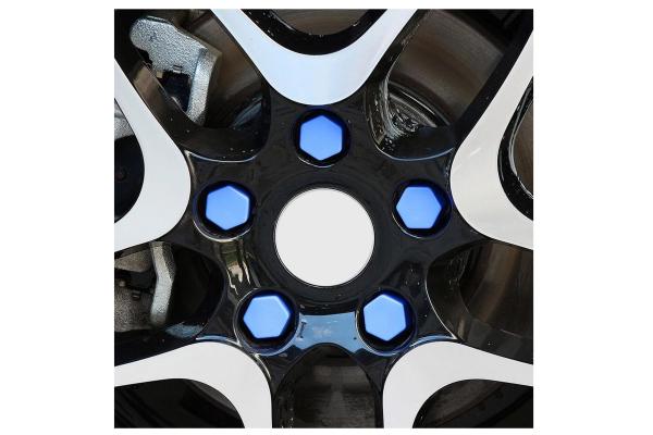 Set 20 capace prezoane pe 19 mm din silicon colorate 0