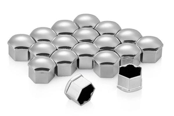 Set 20 capace prezoane plus cheie de scos capacele, argintii [2]