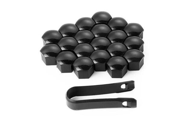 Set 20 capace prezoane plus cheie de scos capacele, negre 2