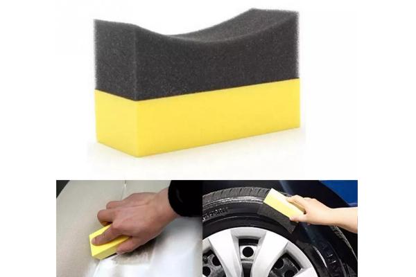 Burete curatat auto, luciu anvelope / jante, forma U 0