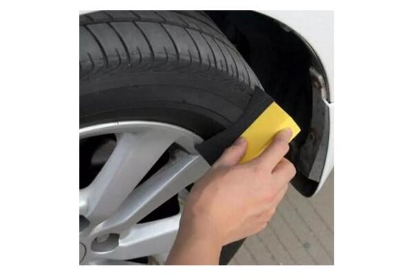Burete curatat auto, luciu anvelope / jante, forma U 5