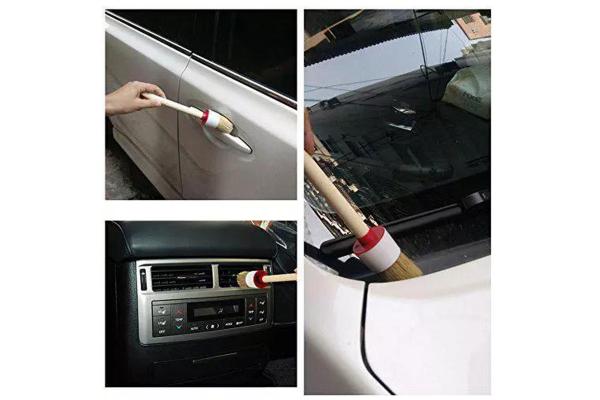 Set 5 perii pentru curatat interior auto [3]