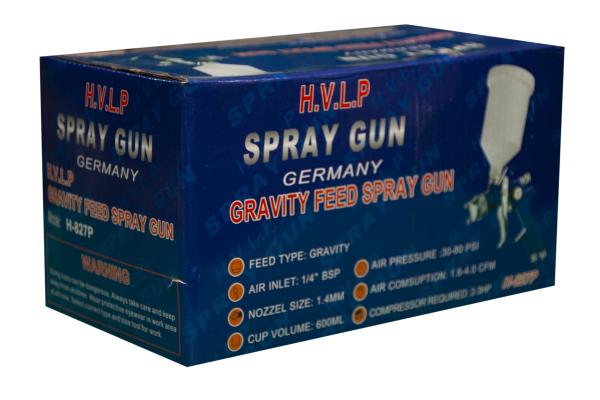 Pistol Vopsit Benbow, HVLP, duza 1.4 + set duze (1.8;2.5) 4