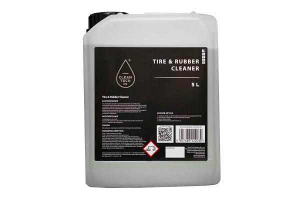 Solutie pentru curatat cauciuc si anvelope, Cleantech 5L 1
