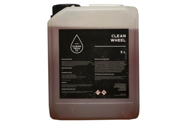 Clean Wheel, solutie din acid, pt curatat jante auto 5L 1