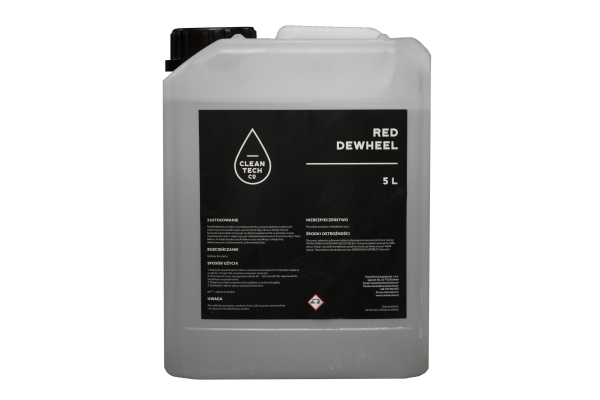 Red DeWheel, Soutie pentru curatat rezidurile de fier, de pe jante, 5L 1