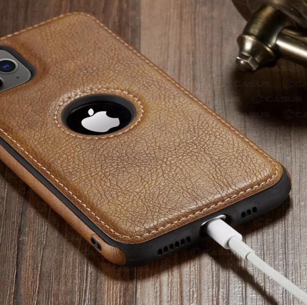 Carcasa piele pentru iphone 2