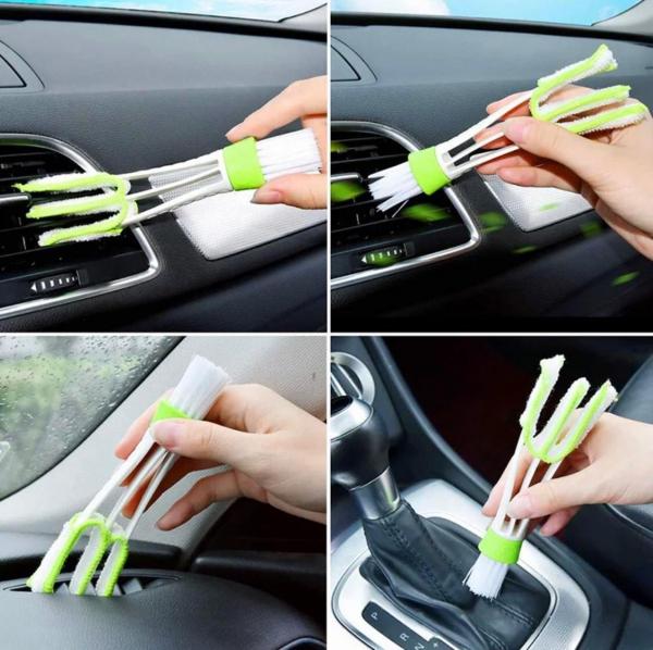 Set 13 perii de curățare a mașinii interior exterior 1