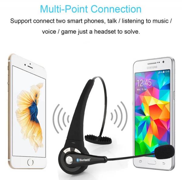 Cască de jocuri profesională Bluetooth fără fir universală pentru PS PC si telefoane inteligente 3