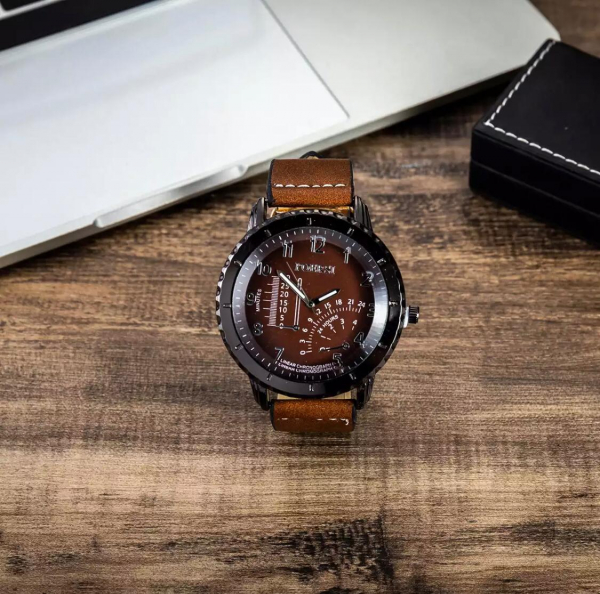 6 buc / set cadou pentru bărbați, ceas, ochelari, breloc, portofel, curea si pix 8