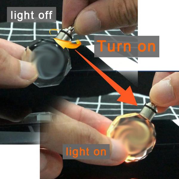 Breloc chei din cristal - inscriptie auto 3