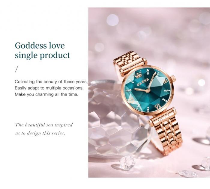 Set pentru femei 3 buc Luxury ceas, bratara, colier [2]