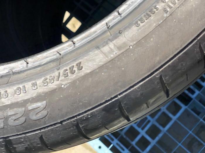 set 4 anvelope 225/45 R18 Runflat sh vara Continental 5.5mm cu garantie [4]
