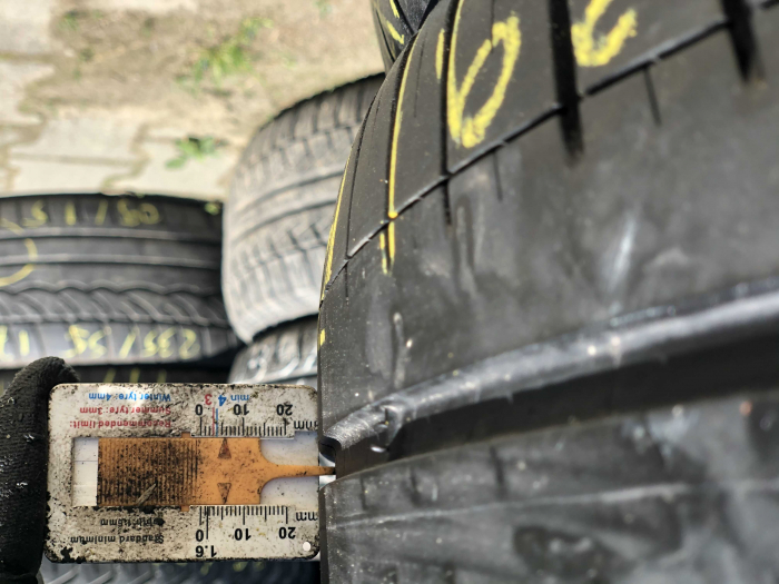 set 2 anvelope 215/45 R18  sh vara Michelin 5mm cu garantie [6]