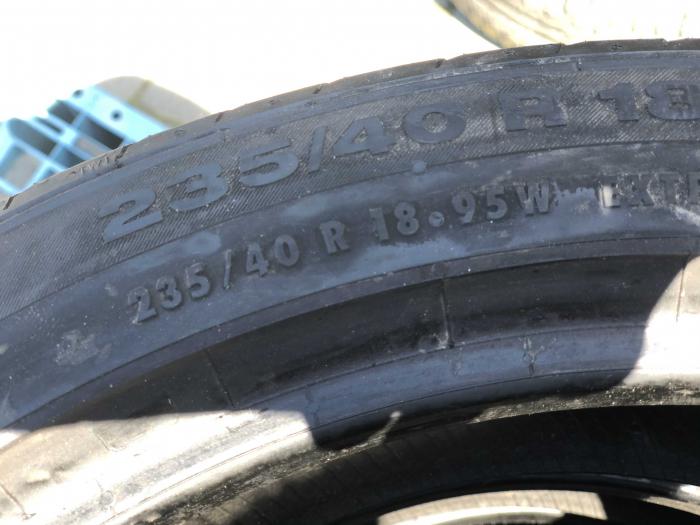 set 2 anvelope 235/40 R18  sh vara Continental 6mm cu garantie [5]