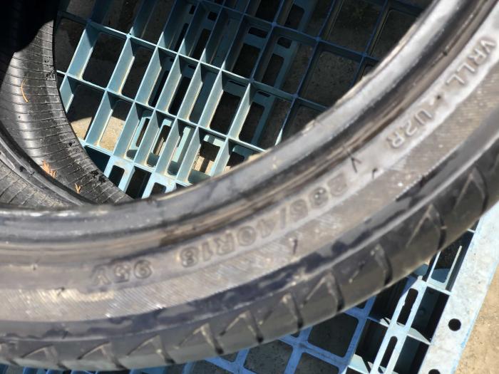 set 2 anvelope 235/40 R18  sh vara Bridgestone 5mm cu garantie [3]