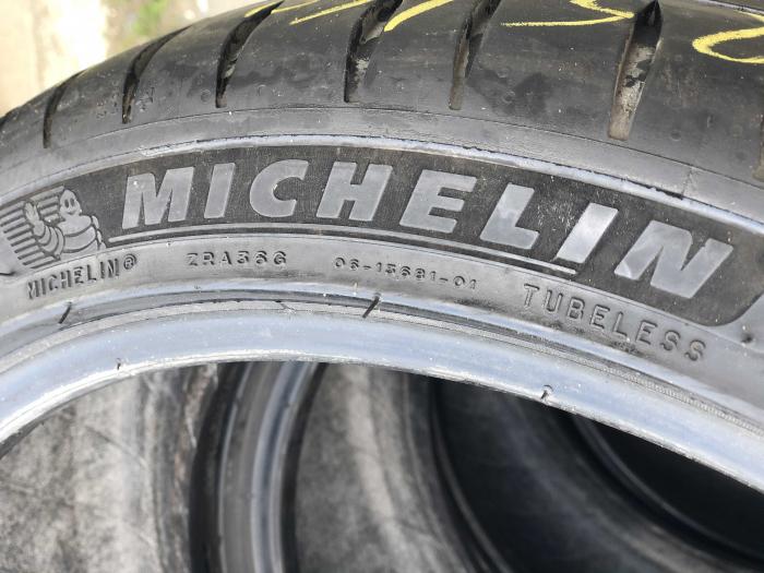 set 4 anvelope 225/40 R18  sh vara Michelin 5mm cu garantie [2]