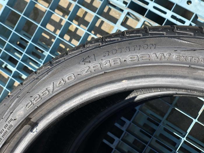 set 2 anvelope 225/40 R18  sh vara Achilles 6.5mm cu garantie [5]