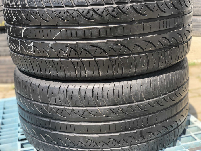 set 2 anvelope 255/35 R18  sh vara M+S Pirelli 6.5mm cu garantie [0]