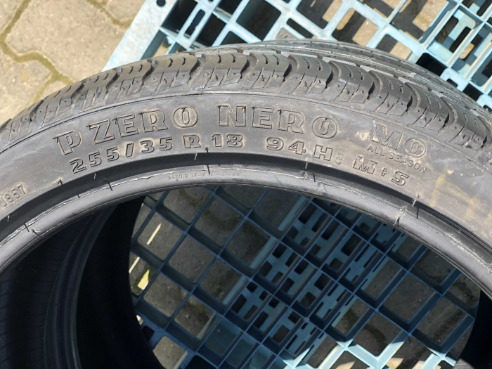 set 2 anvelope 255/35 R18  sh vara M+S Pirelli 6.5mm cu garantie [3]