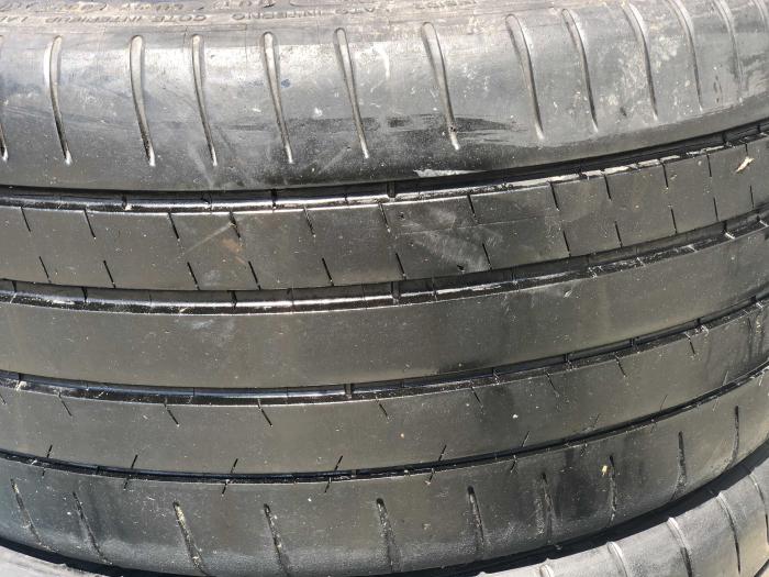 set 2 anvelope 245/35 R18  sh vara Michelin 6mm cu garantie [1]