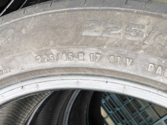 set 2 anvelope 225/45 R17 sh vara Continental 6mm cu garantie [5]
