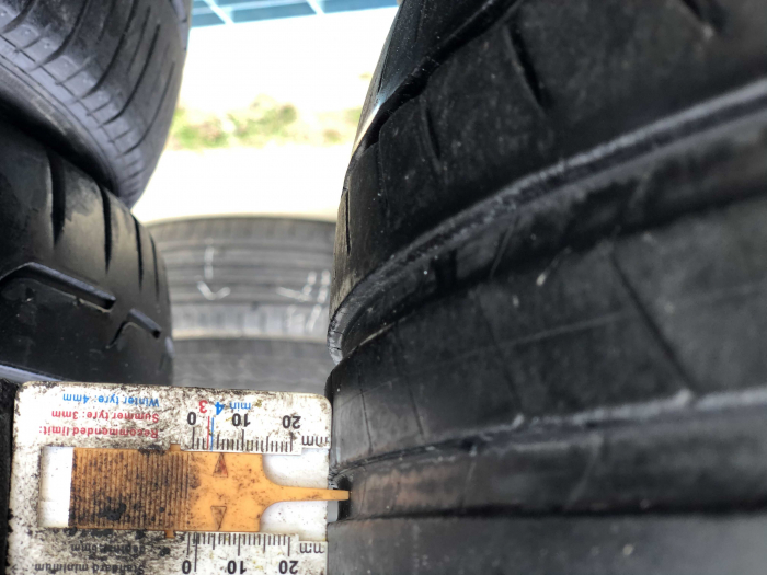 set 2 anvelope 225/45 R17 sh vara Michelin 5.5mm cu garantie [5]