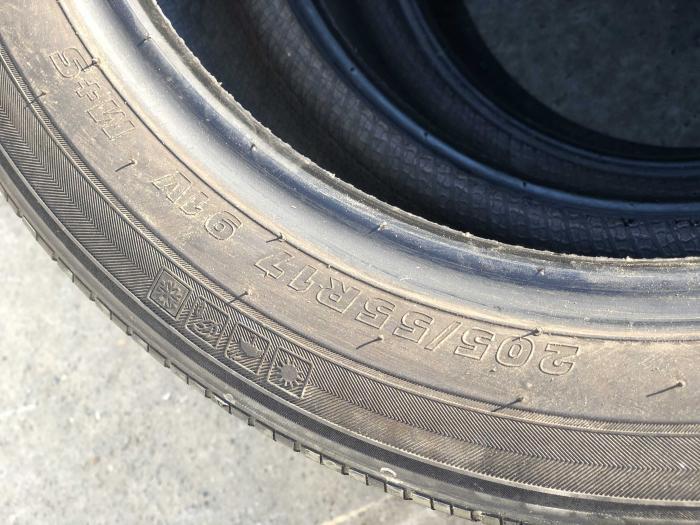 set 2 anvelope 205/55 R17 sh vara M+S Kumho 6mm cu garantie [4]