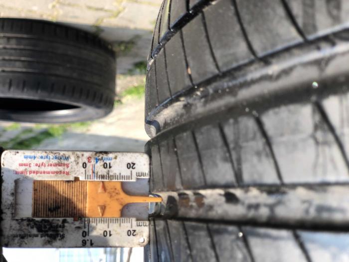 set 2 anvelope 205/55 R17 Runflat sh vara Michelin 7mm cu garantie [5]