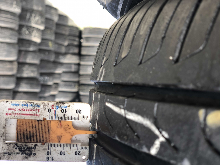 set 4 anvelope 215/55 R17 sh vara Pirelli 6.5mm cu garantie [6]