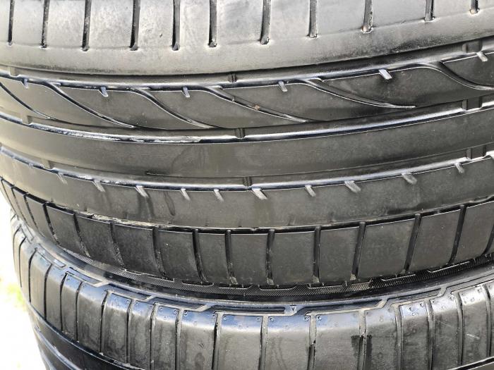 set 4 anvelope 205/50 r17 Runflat sh vara Bridgestone 5.5mm cu garantie [1]