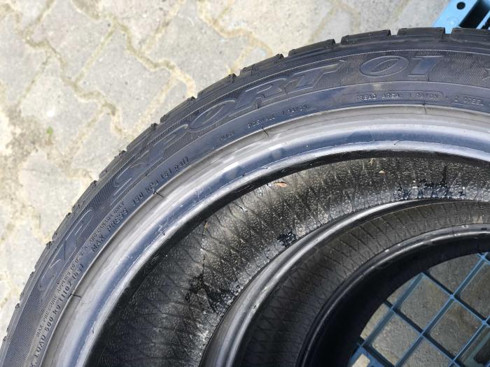 set 2 anvelope 205/45 r17 Runflat sh vara Dunlop 5.5mm cu garantie [4]