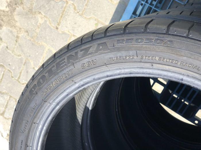set 4 anvelope 205/45 R17 sh vara Bridgestone 4.5mm cu garantie [4]