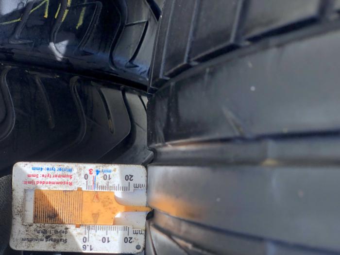 set 4 anvelope 205/45 R17 sh vara Bridgestone 4.5mm cu garantie [5]