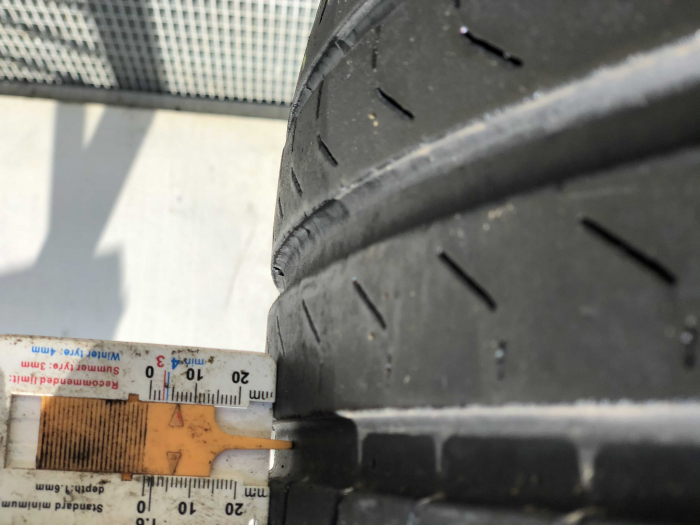 set 2 anvelope 255/45 R20 sh vara Pirelli 6mm cu garantie [6]