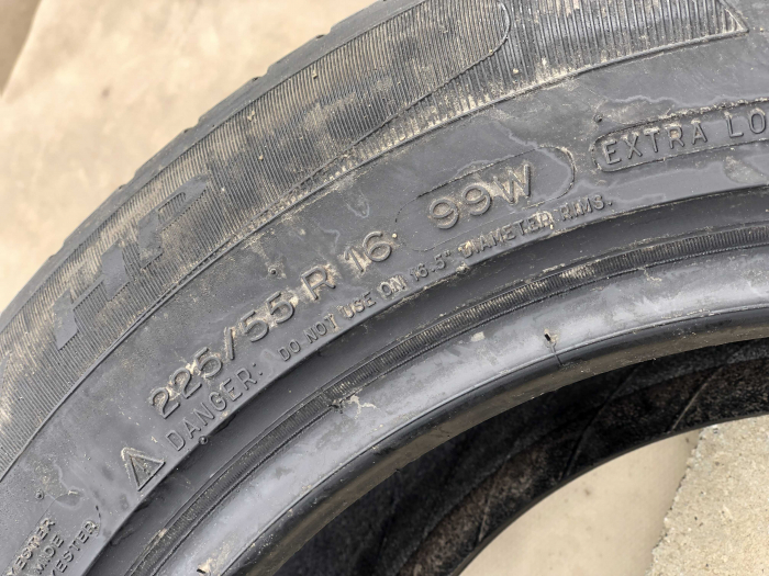 set 4 anvelope 225/55 R16 sh vara Michelin 5mm cu garantie [4]