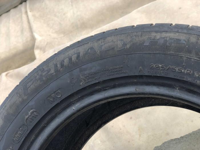 set 4 anvelope 225/55 R16 sh vara Michelin 5mm cu garantie [5]